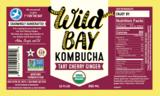 Wild Kombucha Tart Cherry Ginger (case of 12)
